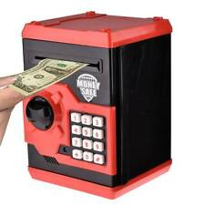 Coin Money Saving Box Electronic Password Piggy Bank Safe Children Boxes Safety