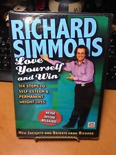 Richard Simmons Love Yourself and Win Exercise Fitness 2006 Weight Loss DVD NEW