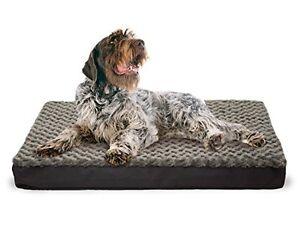Dog Bed K9 Orthopedic Mattress Water Resistant Pet Crate , XL Dog Jumbo Bed