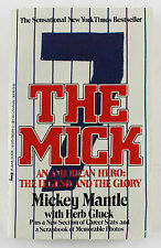 MICKEY MANTLE SIGNED THE MICK SOFTCOVER BOOK YANKEES  PSA/DNA #Z05301