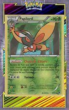 Papilord Reverse -XY10: Impact des Destins- 4/124 -Carte Pokemon Neuve Française