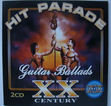 HIT PARADE XX Century - Guitar Ballads (2CD in the set, 32 tracks, NEW, SEALED)