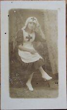 Cuba - Nurse 1920 AZO Realphoto Postcard- Havana/Habana