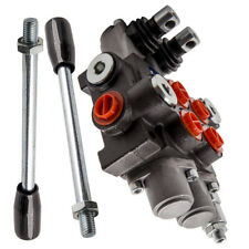 Hydraulic Directional Control Valve Tractor Loader With Joystick 2 Spool 13gpm
