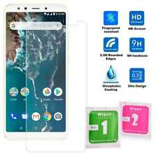 Flat Tempered Glass 2.5D 9H Screen Protector Cover for Xiaomi Mi A2/6X Clear