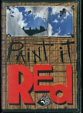 BEAR MOUNTAIN'S PAINT IT RED RARE NEW SEALED DVD Extreme SNOWBOARDING SNOWBOARD