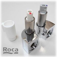ROCA THE GAP REPLACEMENT SOFT CLOSE TOILET SEAT HINGE SET ONLY CHROME HINGES