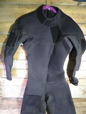 ALEEDA Wetsuit MT 5/3 MM Black Long Sleeve Handcrafted USA Diving