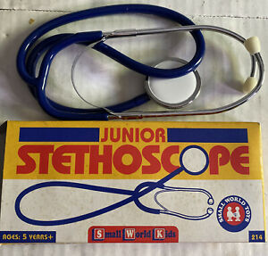 junior stethoscope small world toys 1994- old/new Vintage