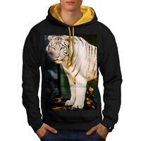 Blanc Casual Pullover Pull Wellcoda Polar Bear Animal Sauvage Femme Sweat-shirt
