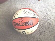 Seattle Storm 2012 Team Autographed WNBA Ball  COA