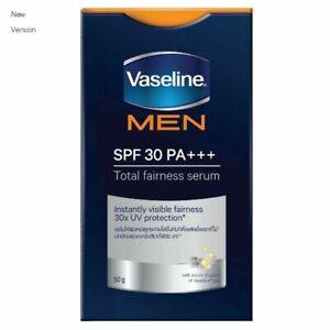 Vaseline Men Total Fairness Serum SPF 30 Antispot Whitening UV Protection 50 g