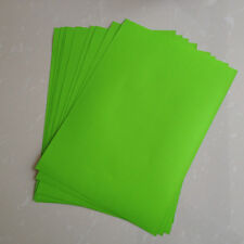50 Sheets A4 Green Self Adhesive Sticker PP Synthetic Paper for Laser Printer