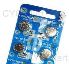 4 pcs x Renata 390 SR1130S SR54 Silver Oxide Battery, Swiss Made FREE POST WW