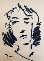 "JOSE TRUJILLO - NEW Works Original OIL PAINTING on Paper 18x24"" Portrait Artist"