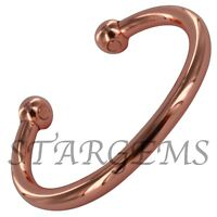 PREMIUM MAGNETIC COPPER TORQUE BANGLE/BRACELET FOR ARTHRITIS PAIN RELIEF HEALTH