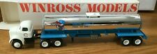 Winross White Coburg Tractor/Tanker Trailer 1/64