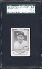 1926 Spalding Champions (Sports Company of America) Bucky Harris SGC 92
