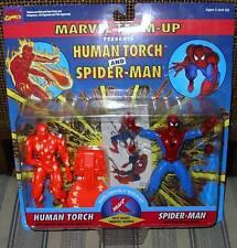 MARVEL  SPIDER MAN & HUMAN TORCH  KMART EXCLUSIVE MOC