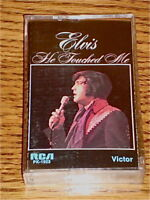 ELVIS PRESLEY HE TOUCHED ME CASSETTE  ~ 1972