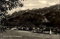Bayrisch Gmain alte Ansichtskarte ~1950/60 Panorama mit Lattengebirge ungelaufen