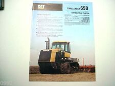 Caterpillar Challenger 65B Agricultural Tractor Brochure 12 Pages              #