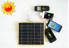 Chargeur Panneau solaire photovoltaïque 5W  camping car  rando voyage travel