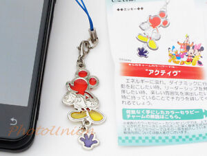 Coca Cola Disney Phone Strap Decoration Charm Keychain Decor Mickey Mouse A171