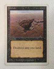 [1x] Sinkhole - Unlimited Edition MTG Single Moderate Play Condition MP