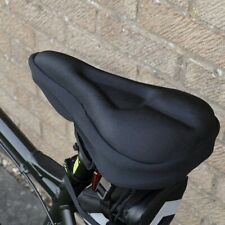 Bike Bicycle Extra Comfort Silicone Seat Saddle Cover Pad Gel form Cushion