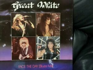 "Great White - Face The Day Vinyl 12"" Single 2 Tracks UK Press 1986 EX+/EX+"