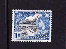 K.U.T.1954 10/- BLACK & DEEP ULTRAMARINE SG 179 MINT.