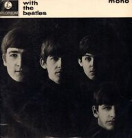 The Beatles(Vinyl LP)With The Beatles-Parlophone-PMC 1206-UK-1963-G+/Fair