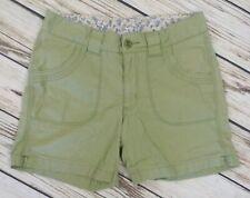 Carhartt Womens Sz 8 Olive Green Hike Shorts Jams Flap Pockets