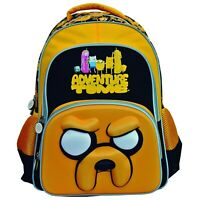 3D Adventure Time Jake The Dog BackPack Yellow Rare Hard to Find Cartoon