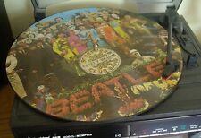 "Picture Disc - Sgt Pepper - Beatles - Excellent Condition - 12"" Vinyl LP Album"