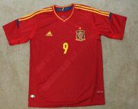 Adidas Spain National Team Soccer Jersey - #9 Fernando Torres Medium