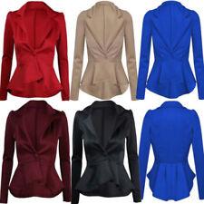 Cappotti e giacche da donna blu formali bottone