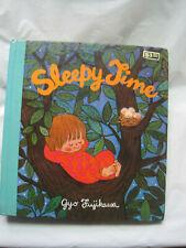 Vintage 1975~Sleepy Time by Gyo Fujikawa~Board Book~LBDAQ