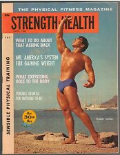 Strength & Health Bodybuilding Fitness Magazine Tommy Kono 4-62