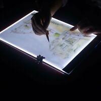 A3/A4 LED Tracing Light Box Board Tattoo Drawing Copy Pad Table Stencil Display