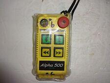 WILLIAMS FOMOTECH TX-ALPHA 520 RADIO REMOTE CONTROL WIRELESS HOIST CONTROL