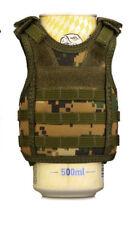 Wine Soda Beer Bottle Military Vest Coozie Coolie Koozie Coolers Mello Jungle