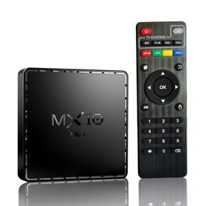 MX10 Mini Android 10.0 TV-Box 4+64GB H616 6K HDR H.265 2,4G 5G WiFi BT4.2 T6W1
