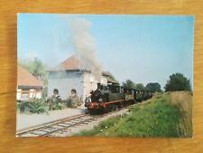 CPA - Train vallée de Doller - Locomotive Meuse N°51 et rame de Palavas - Aspach