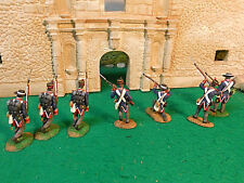 HAND PAINTED CONTE ALAMO SOLDIERS
