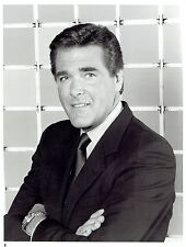 """1984 Original Photo by NBC Chuck Woolery hosts TV Game Show """"Scrabble"""""""