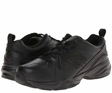 Men's New Balance MX608V4 Training Shoes Black Leather All Sizes NEW