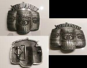 Jack Daniels Barrell Old No. 7 Belt Buckle Western Cowbow antique pewter finish