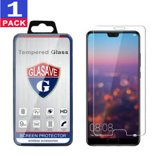 """GLASAVE Tempered Glass Screen Protector For """"Huawei P20 Pro"""""""